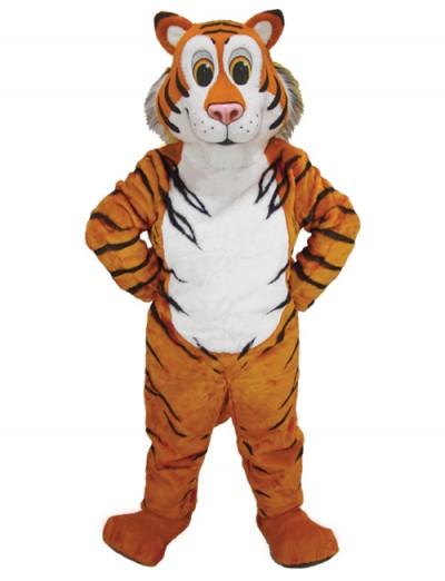 Tiger head mascot costume